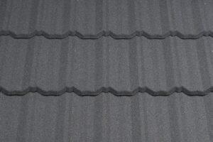 изображение композитной черепицы metrotile classic charcoal, фоторгафия
